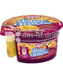 Produktabbildung: Dr. Oetker Götter Grütze Pfirsich-Aprikose