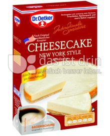 Produktabbildung: Dr. Oetker Cheesecake New York Style 420 g