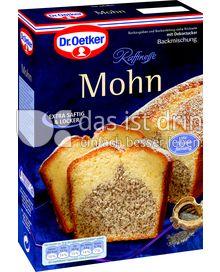 Produktabbildung: Dr. Oetker Mohnkuchen 465 g