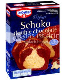 Produktabbildung: Dr. Oetker Schoko Kuchen double chocolate 475 g