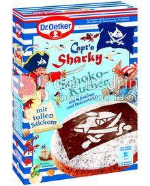 Produktabbildung: Dr. Oetker Capt´n Sharky Schokokuchen