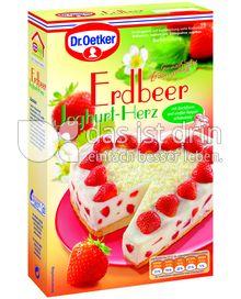 Produktabbildung: Dr. Oetker Erdbeer Joghurt Herz