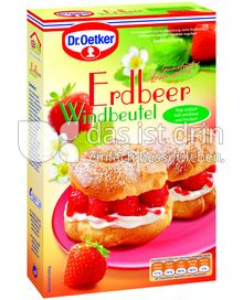 Produktabbildung: Dr. Oetker Erdbeer Windbeutel