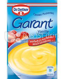 Produktabbildung: Dr. Oetker Garant Vanille-Geschmack