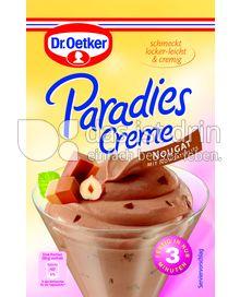 Produktabbildung: Dr. Oetker Paradies Creme Nougat mit Nougatsplits 70 g