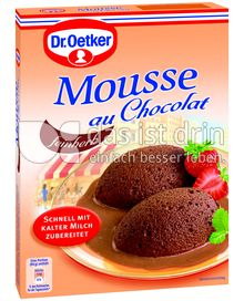 Produktabbildung: Dr. Oetker Mousse au Chocolat fein herb
