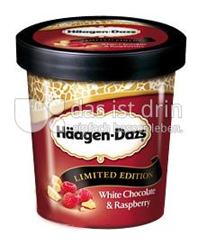 Produktabbildung: Häagen-Dazs White Chocolate & Raspberry 500 ml
