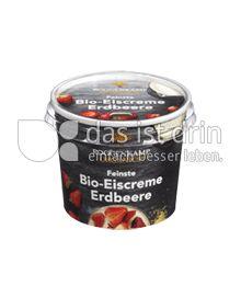 Produktabbildung: Roggenkamp Organics Feinste Bio-Eiscreme Erdbeere 100 ml