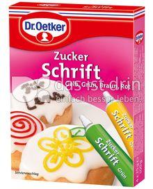 Produktabbildung: Dr. Oetker Zucker Schrift 100 g