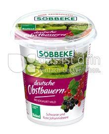 Produktabbildung: Söbbeke deutsche Obstbauern Schwarze und Rote Johannisbeere 400 g
