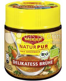 Produktabbildung: Maggi NaturPur Bio Delikatess Brühe 128 g