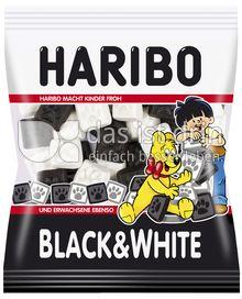 Produktabbildung: Haribo Black & White 200 g
