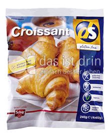 ds gluten free croissant 327 0 kalorien kcal und inhaltsstoffe das ist drin. Black Bedroom Furniture Sets. Home Design Ideas
