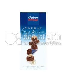 Produktabbildung: Gubor Feine Auslese Nougat 62,5 g