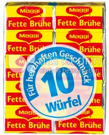 Produktabbildung: Maggi Fette Brühe 100 g