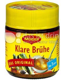 Produktabbildung: Maggi Klare Brühe 126 g