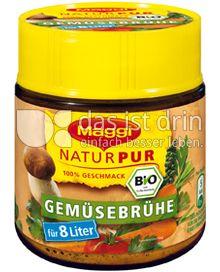 Produktabbildung: Maggi NaturPur Bio Gemüsebrühe 128 g