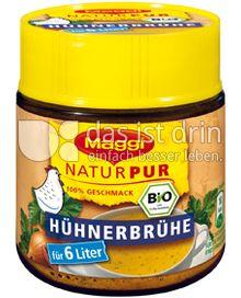 Produktabbildung: Maggi NaturPur Bio Hühnerbrühe 130 g