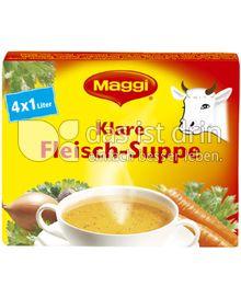Produktabbildung: Maggi Klare Fleisch-Suppe 84 g