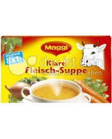 Produktabbildung: Maggi Klare Fleisch-Suppe 168 g