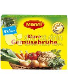 Produktabbildung: Maggi Klare Gemüsebrühe 90 g
