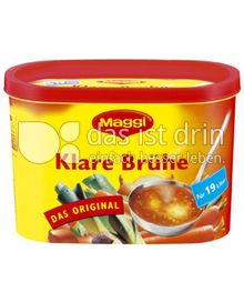 Produktabbildung: Maggi Klare Brühe Dose 304 g