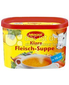 Produktabbildung: Maggi Klare Fleisch-Suppe Dose 320 g