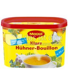 Produktabbildung: Maggi Klare Hühner-Bouillon Dose 308 g