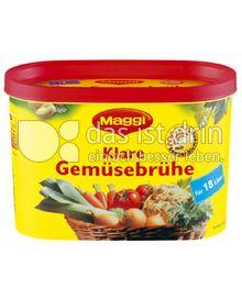 Produktabbildung: Maggi Klare Gemüsebrühe Dose 292 g