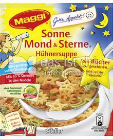 Produktabbildung: Maggi Guten Appetit Sonne Mond & Sterne Hühnersuppe 34 g