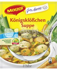 Produktabbildung: Maggi Guten Appetit Königsklößchen Suppe 38 g