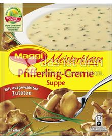 Produktabbildung: Maggi Meisterklasse Pfifferling-Creme Suppe 53 g