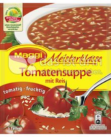 Produktabbildung: Maggi Meisterklasse Tomatensuppe mit Reis 84 g