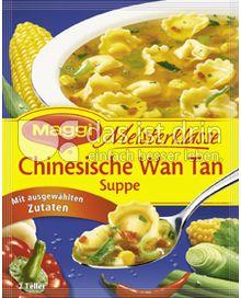 Produktabbildung: Maggi Meisterklasse Chinesische Wan Tan Suppe 56 g