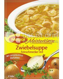 Produktabbildung: Maggi Meisterklasse Zwiebelsuppe Feinschmecker Art 50 g