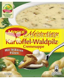 Produktabbildung: Maggi Meisterklasse Kartoffel-Waldpilz Cremesuppe 63,2 g