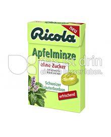 Produktabbildung: Ricola Apfelminze 50 g