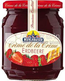 Produktabbildung: Mühlhäuser Crème de la Crème Erdbeere 340 g
