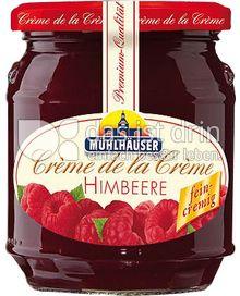 Produktabbildung: Mühlhäuser Crème de la Crème Himbeere 340 g