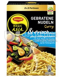 Produktabbildung: Maggi Magic Asia Gebratene Nudeln & frisch Curry 180 g