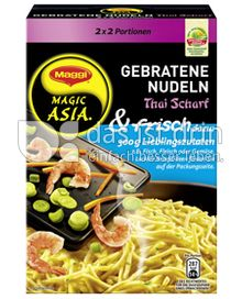 Produktabbildung: Maggi Magic Asia Gebratene Nudeln & frisch Thai Scharf 180 g