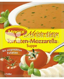 Produktabbildung: Maggi Meisterklasse Tomaten-Mozzarella Suppe 60 g