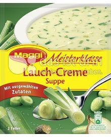 Produktabbildung: Maggi Meisterklasse Lauch-Creme Suppe 44,3 g