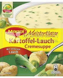 Produktabbildung: Maggi Meisterklasse Kartoffel-Lauch Cremesuppe 46,5 g
