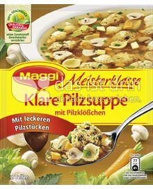 Produktabbildung: Maggi Meisterklasse Klare Pilzsuppe mit Pilzklößchen 44 g