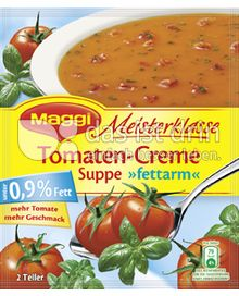 Produktabbildung: Maggi Meisterklasse Tomaten-Creme Suppe »fettarm« 50 g