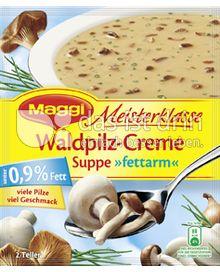 Produktabbildung: Maggi Meisterklasse Waldpilz-Creme Suppe »fettarm« 50 g