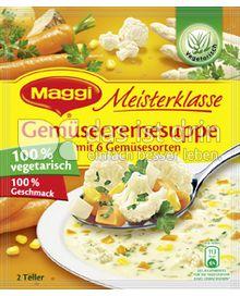 Produktabbildung: Maggi Meisterklasse Gemüsecremesuppe mit 6 Gemüsesorten 52 g