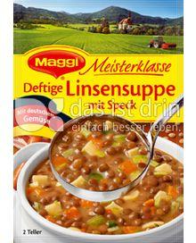 Produktabbildung: Maggi Meisterklasse Deftige Linsensuppe mit Speck 90 g