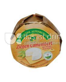 Produktabbildung: Der grüne Altenburger Ziegen-Camembert 150 g